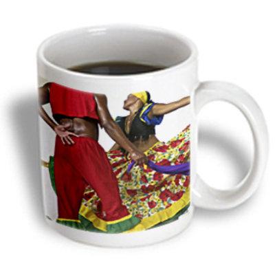 Recaro North 3dRose - Kike Calvo Cartagena Colombia - Mapale dancers Cartagena Colombia - 15 oz mug