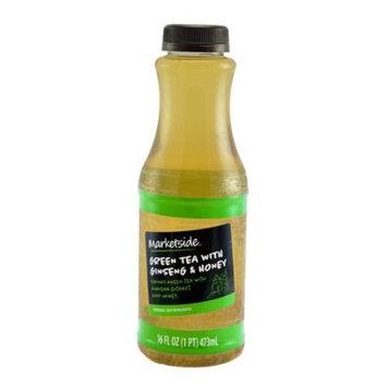 Marketside Green Tea with Ginseng & Honey, 16 fl oz