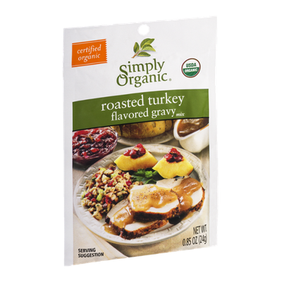 Simply Organic Roasted Turkey Flavored Gravy Mix