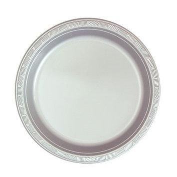 Hanna K Signature Hanna K. Signature 81870 7 in. Silver Plastic Plate - 600 Per Case