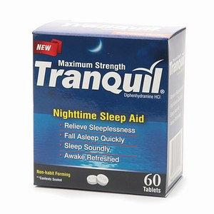 Tranquil Maximum Strength Nightime Sleep Aid