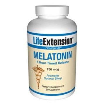 Life Extension Melatonin Time Release 750 mcg