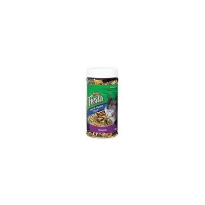 Kaytee Fiesta Fruit and Veggie Treat Jar for Chinchillas -- 9 oz