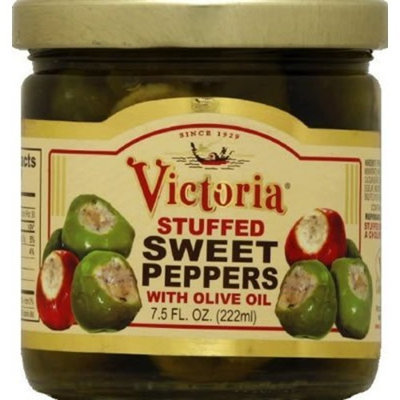 Victoria Peppers, Stfd, Sweet, 7.5 oz (pack of 12 ) ( Value Bulk Multi-pack)
