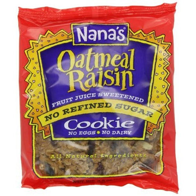 Nana's Cookie, Oatmeal Raisin, 3.5-Ounce Packages (Pack of 12)