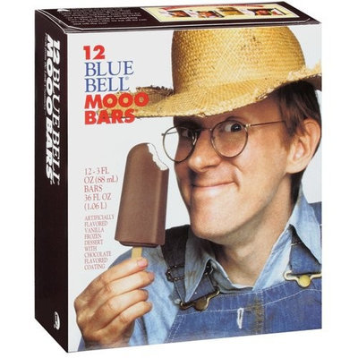 Blue Bell Mooo Bars, 12ct