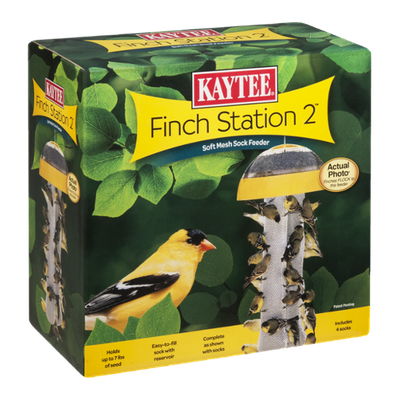 Kaytee Finch Station 2 Soft Mesh Sock Feeder