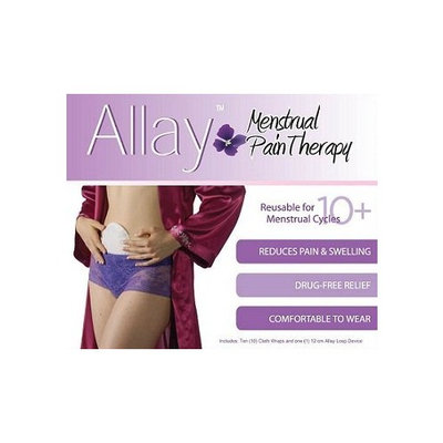 Recovery Rx Actipatch Allay Menstrual Pain Swelling, Bruising & Scarring Recovery Kit