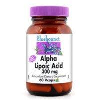 Blue Bonnet BlueBonnet Alpha Lipoic Acid Vegetarian Capsules, 300 mg, 60 Count