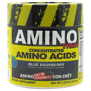 CON-CRET Amino Tren, Blue Raspberry, 32 Servings