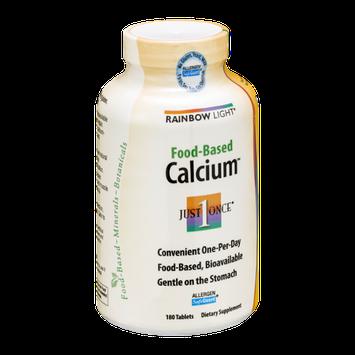 Rainbow Light Food-Based Calcium Tablets - 180 CT