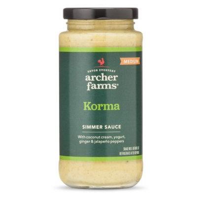 Archer Farms Korma Simmer Sauce 11.8floz