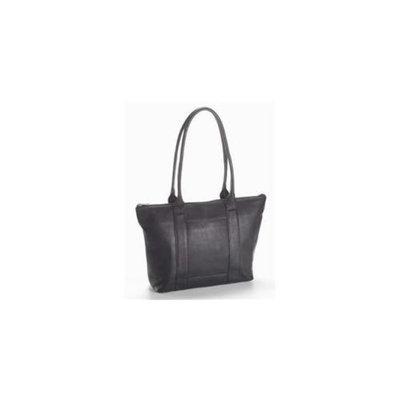 Clava 988 Zip Top Shopper - Vachetta Black