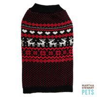 Martha Stewart PetsA Fairisle Sweater
