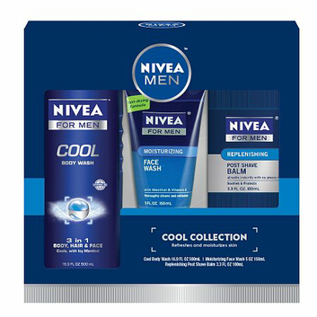 Nivea for Men Cool Collection 3 Piece Gift Set