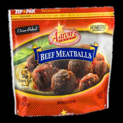 Aaron's Best Beef Meatballs