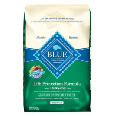 THE BLUE BUFFALO CO. BLUE™ Life Protection Formula® Natural Lamb & Brown Rice Recipe Food for Senior Dogs