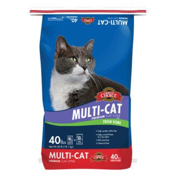 Grreat ChoiceA Scented Cat Litter