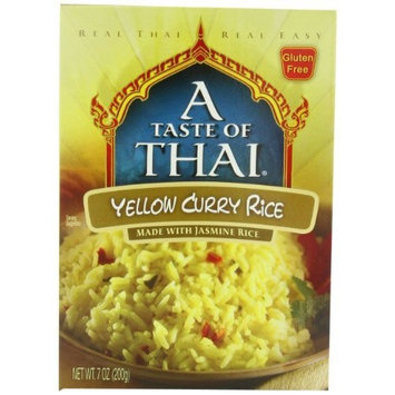A Taste of Thai Yellow Curry Rice, 7-Ounce Boxes (Pack of 6)