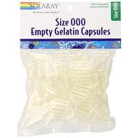 Solaray Empty Gelatin Capsules