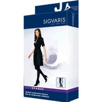 Sigvaris Soft Opaque 842PSLW91 20-30 mmHg Womens Closed Toe Panty, Graphite, Small and Long