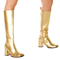 Buy Seasons Gold Gogo Boots Adult - 6.0