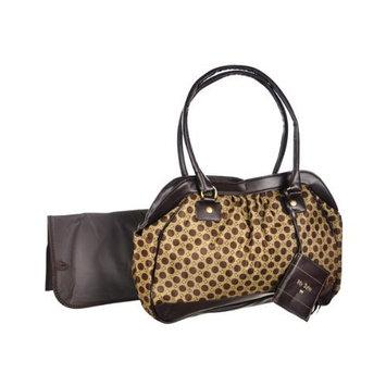 Baby Essentials Circle Fashion Diaper Bag, Sage