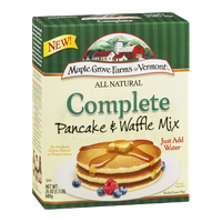 Maple Grove Farms of Vermont All Natural Complete Pancake & Waffle Mix