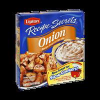 Lipton Recipe Secrets Onion Recipe Soup & Dip Mix