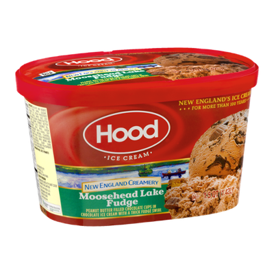 Hood Ice Cream New England Creamery Moosehead Lake Fudge
