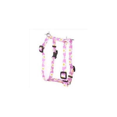 Yellow Dog Design H-LAVD101SM Lavender Daisy Roman Harness - Small/Medium