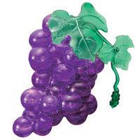 Bepuzzled 3D Crystal Puzzle - Grapes (Purple): 39 Pcs