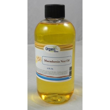SAAQIN ® Macadamia Nuts Oil - 100% Pure and Organic 8 Oz