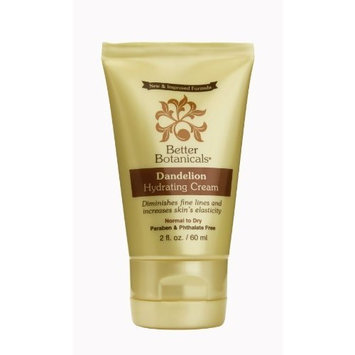 Better Botanicals Dandelion Hydrating Cream 2 Oz