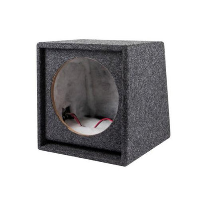 Monoprice 10 Inch Subwoofer Enclosure - Single Driver