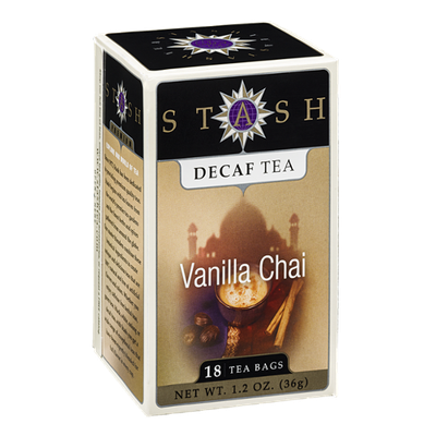 Stash Decaf Tea Bags Vanilla Chai - 18 CT