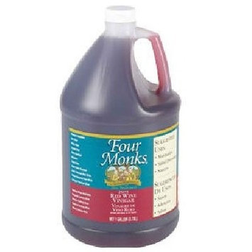 Four Monks Red Wine Vinegar (4x128OZ )