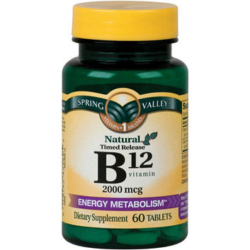Spring Valley Natural Timed Release Vitamin B12 Tablets