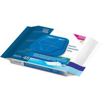 SCA Tena Ultra Skin-Caring Washcloths, 8x12.5 in., Soft-Pack/48 wipes
