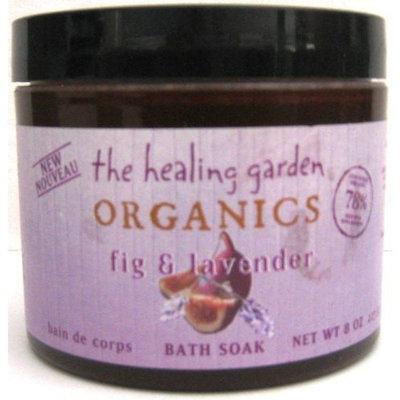 Healing Garden Organics Bath Soak Fig & Lavender 8 oz (227 g)