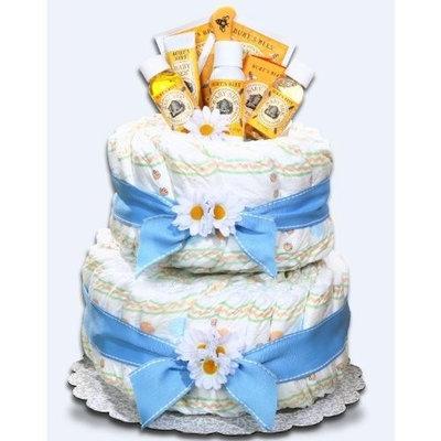 Alder Creek Gifts Boy's Burt's Bees Diaper Cake