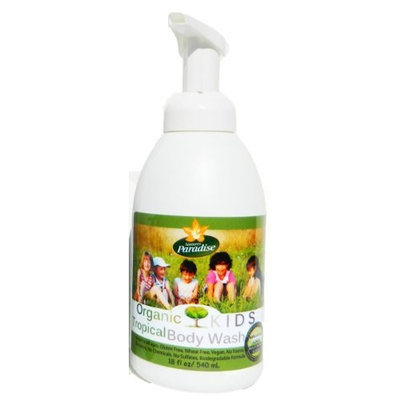Body Wash Tropical Organic Kids By Nature's Paradise