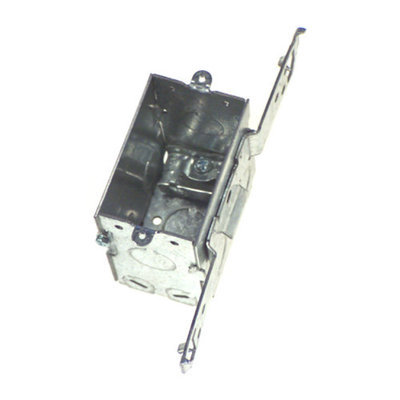 Hubbell Raco Hubbel Raco 604 Single Gang Switch Box With Bracket