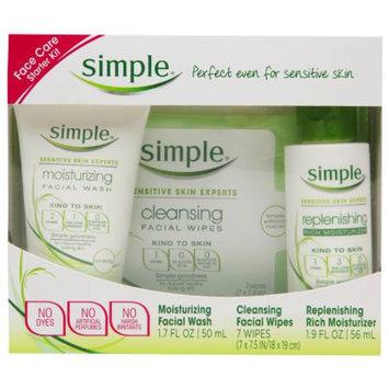 Simple Face Care Starter Kit, 1.9 fl oz