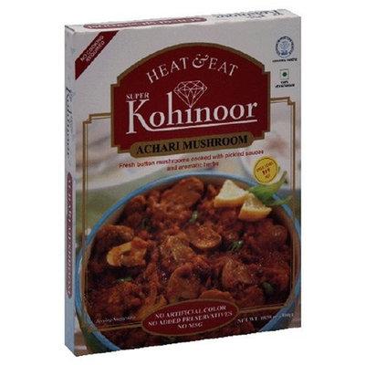 Kohinoor Heat & Eat Curries, Achari Mushroom, 10.5-Ounce Boxes (Pack of 10)
