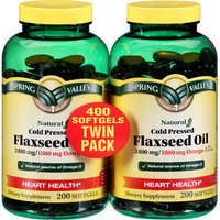Spring Valley flax Oil 1200 mg