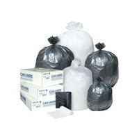 Inteplast Group Integrated Bagging Systems S386014K Black 14 Mic High-Density Can Liners
