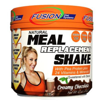 Fusion Diet Systems Meal Replacement Shake, Creamy Chocolate, 12 oz