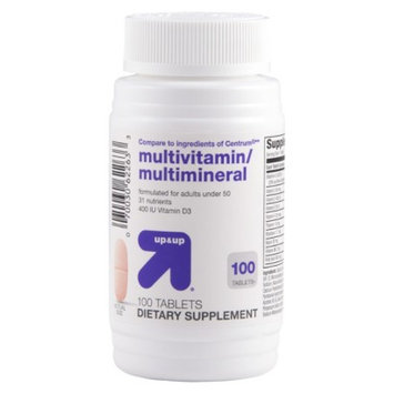 up & up up&up Multivitamin and Multimineral Tablets - 100 Count