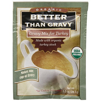 Superior Touch, Better Than Gravy, Gravy Mix, Made from Organic Turkey Stock, Makes 1 cup of Gravy, 12-Count , 1 oz Packets